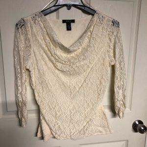 Style & Co lace blouse